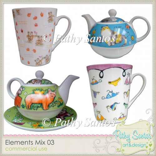 Elements Mix 03 Pathy Santos