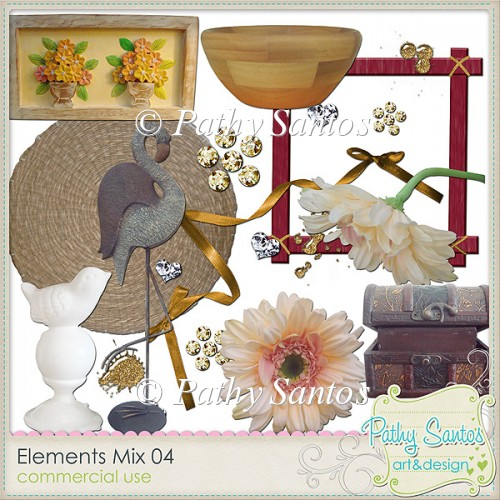 Elements Mix 04 Pathy Santos