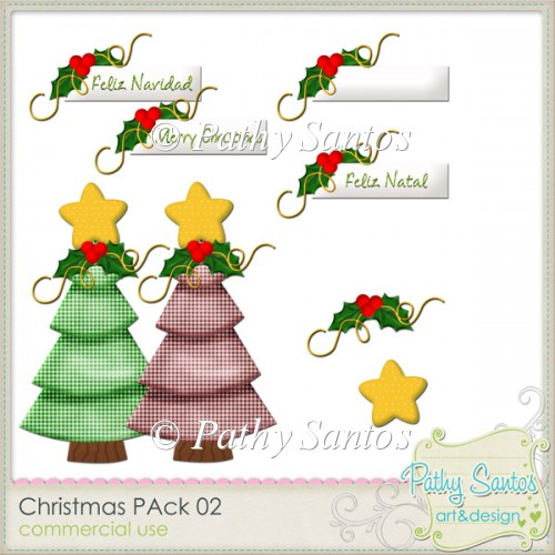 CHristmas PAck 02 Pathy Santos