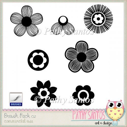 Brush Pack 02 Pathy Santos