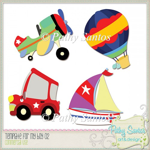 Template For My Boy 02 Pathy Santos