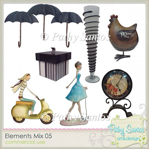Elements Mix 05 Pathy Santos