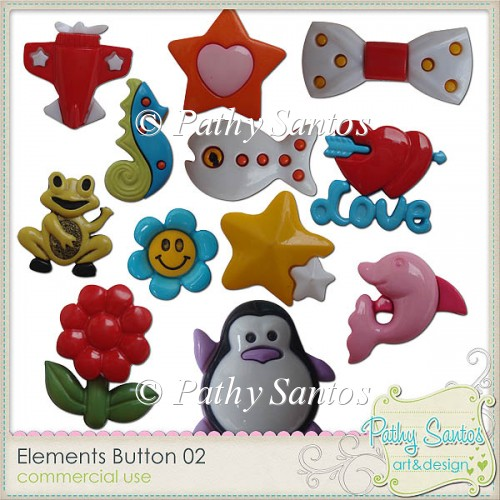 Elements Button 02 Pathy Santos