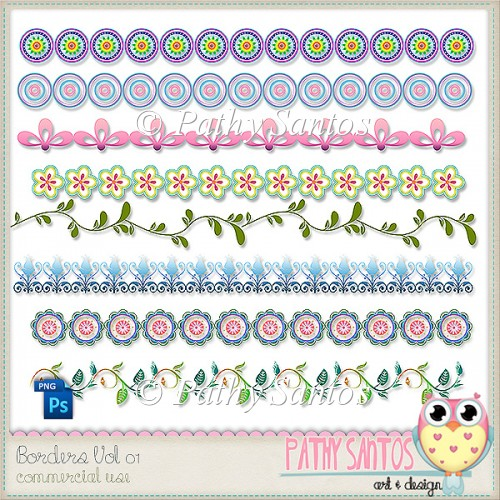 Borders Vol 01 Pathy Santos