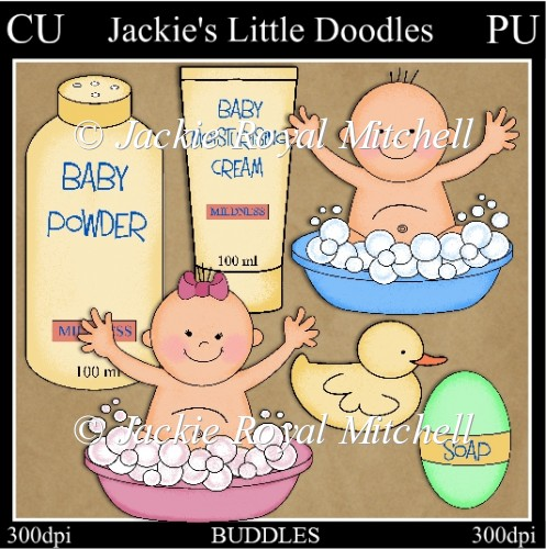 Buddles Baby clipart