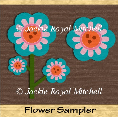 Flower Sampler clipart