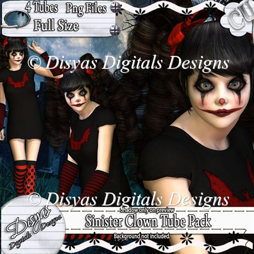SINISTER CLOWN TUBE PACK CU