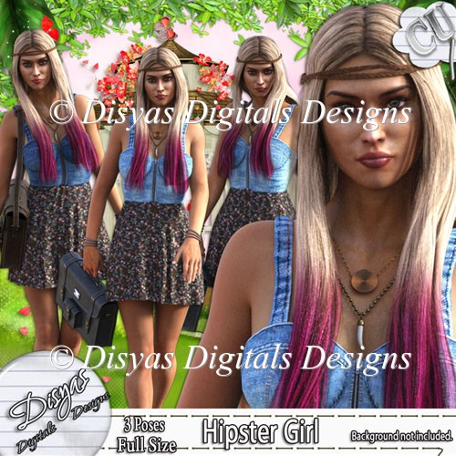 HIPSTER GIRL TUBE PACK CU