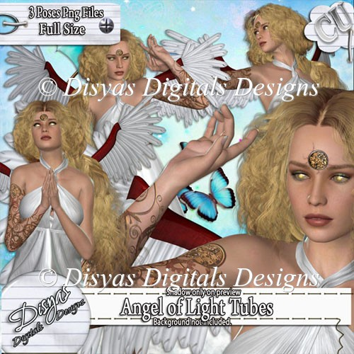 ANGEL OF LIGHT TUBE PACK - CU