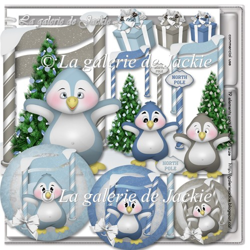 Winter penguins 5 FS by GJ