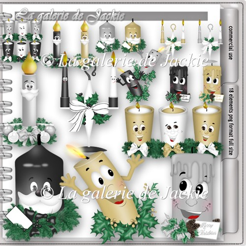 CU Christmas Candle 2 FS by GJ - Click Image to Close