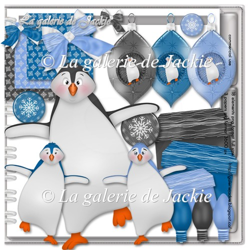 Winter penguins 2 FS by GJ