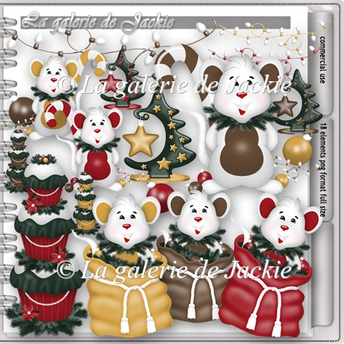 CU Holiday mouse 1 FS by GJ - Click Image to Close