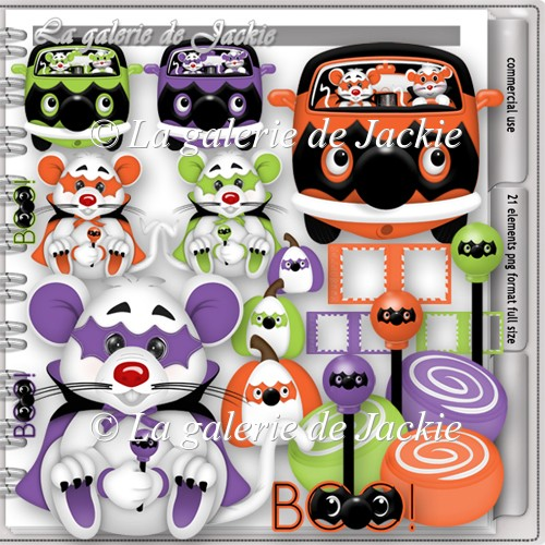 CU trick or treat mouse 3 FS by GJ - Click Image to Close