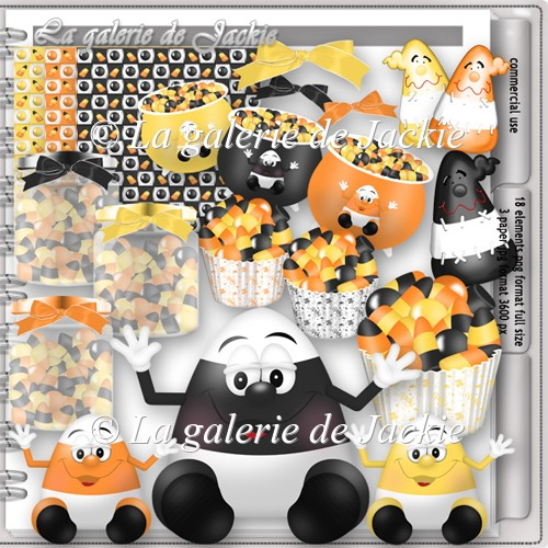 CU candy corn 1 FS by GJ - Click Image to Close