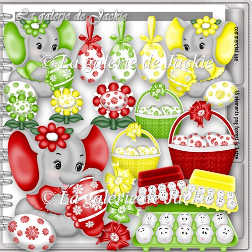 CU Sweet Easter Elephant 3 FS by GJ