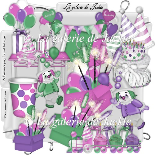 CU Birthday Elements 2 FS