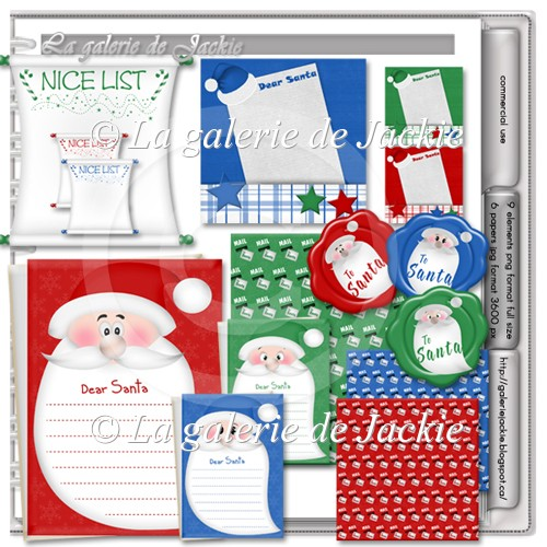 Free gift Santa list FS by GJ