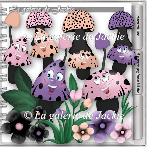 CU Funny Mushrooms 3 FS by GJ - Click Image to Close