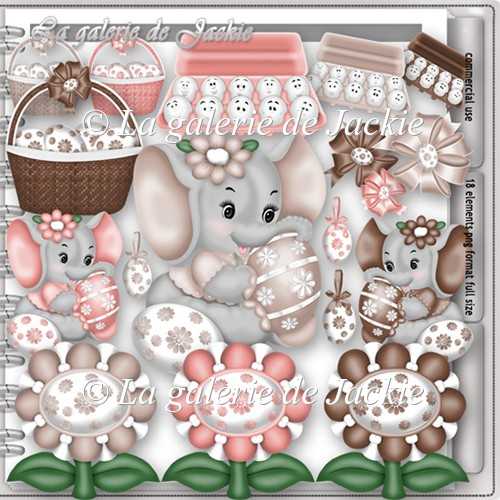 CU Sweet Easter Elephant 2 FS by GJ
