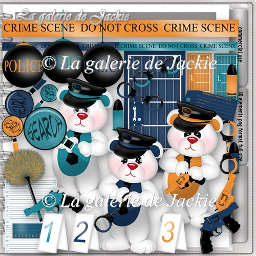 CU Little police 1 FS by GJ
