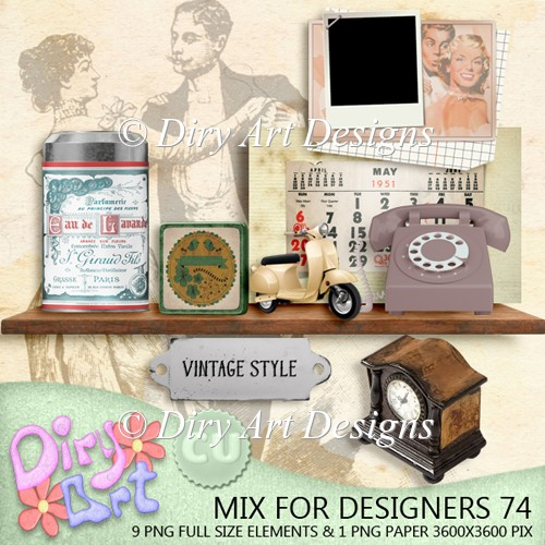 * Mix For Designers 74 *