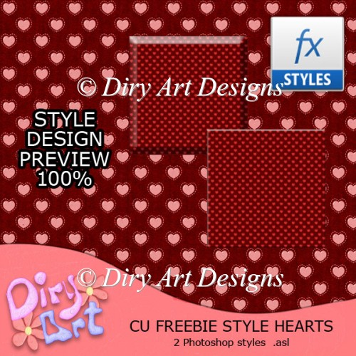 * Freebie Style Hearts * - Click Image to Close