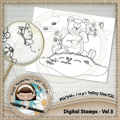 Digital Stamps - Vol 3 - Click Image to Close