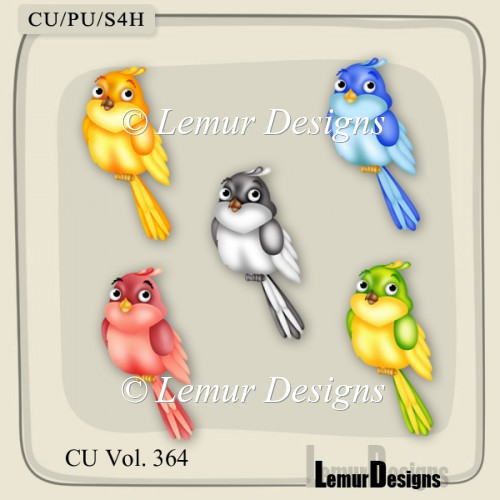 CU Vol. 364 Bird by Lemur Designs