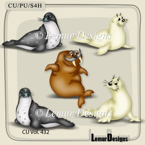 CU Vol. 432 Animals by Lemur Designs