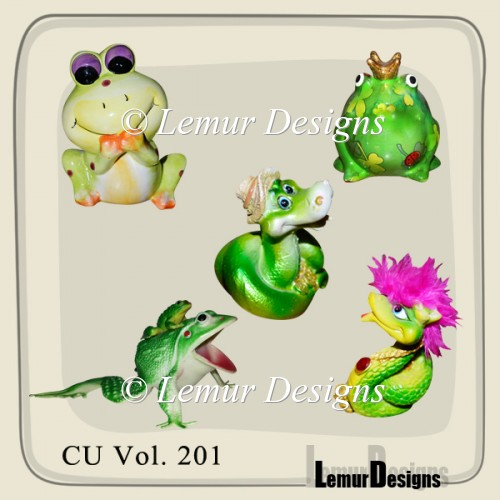 CU Vol. 201 Snake Frog by Lemur Designs