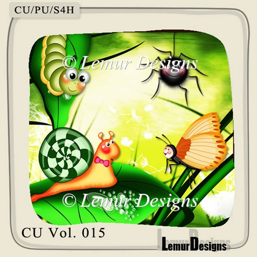 Insects Pack 3 by Lemur Designs