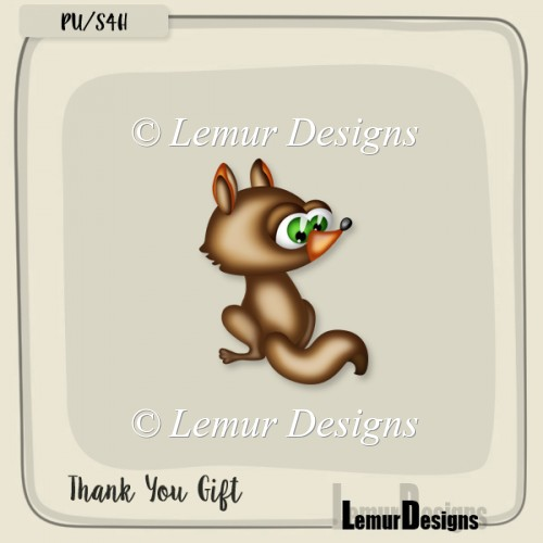 Thank You Gift by Lemur Designs