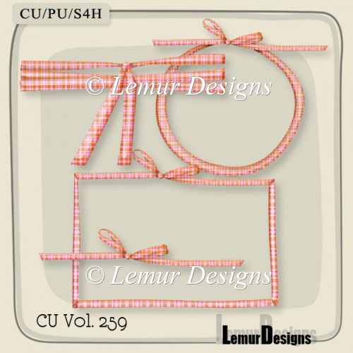 Ribbon Pack 4 by Lemur Designs