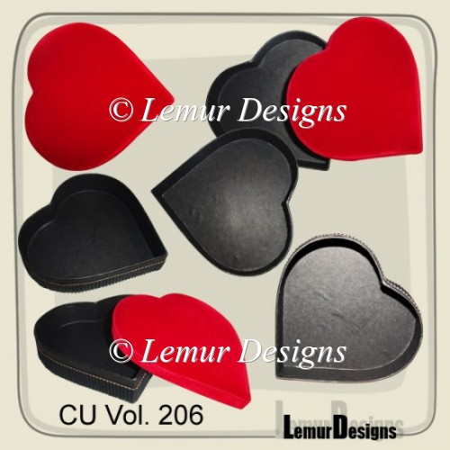 CU Vol. 206 box heart by Lemur Designs