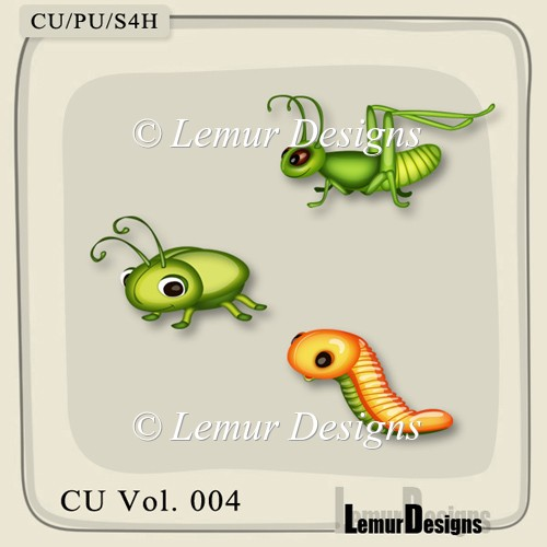 Insects Pack 2 by Lemur Designs