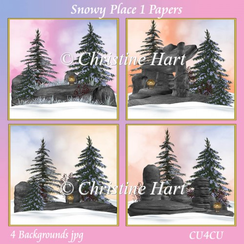 Snowy Place 1 Papers