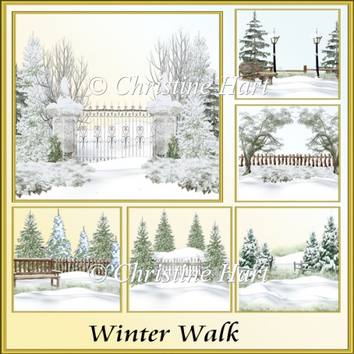 Winter Walk png - Click Image to Close