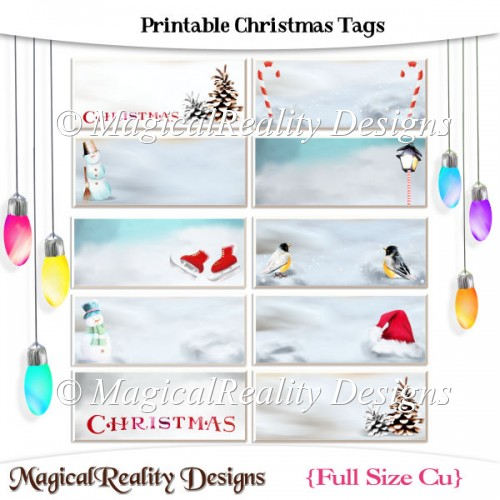 Printable Christmas Tags - Click Image to Close